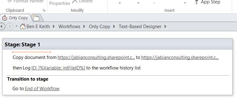 Workflow Capture