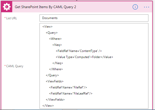 Copy a from a source library to a destination library a