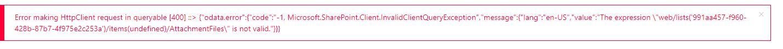 Error to save ticket - Sharepoint